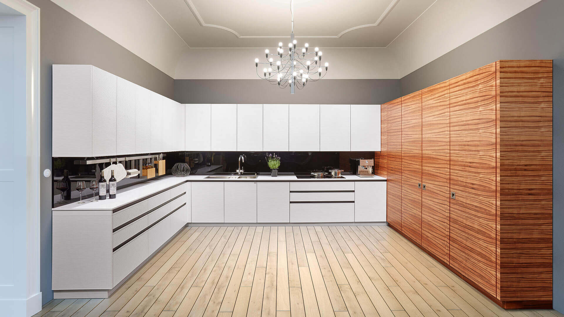 The Types And Comforts Of Kitchen Cabinets